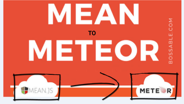 Make your MEAN Stack App a Meteorjs App