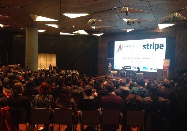 Stripe launches in Aus! Fireside with Paul Bassat & John Collison
