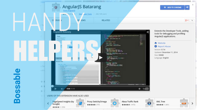 MEAN Stack – Mongo Explorer & AngularJS Batarang – Day 14
