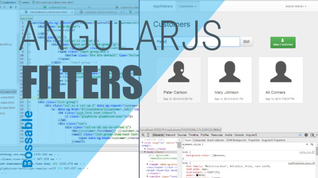MEAN Stack – Customer Search using AngularJS Filters – Day 18