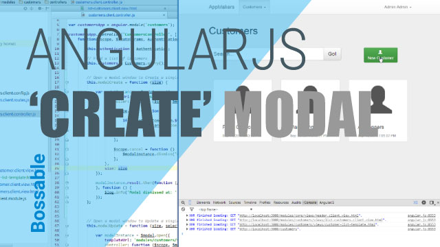 MEAN Stack – Create Customer AngularJS Modal – Day 25